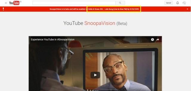 SnoopaVision