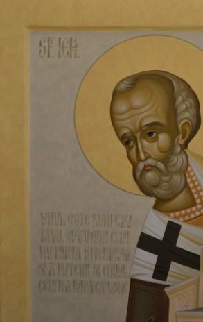 Icoana pictata Sfantul Nicolae