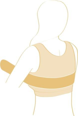 Kompressionsbælte til brystopererede 1