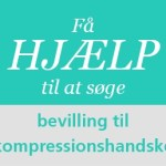 Sådan søger du bevilling til kompressionshandske