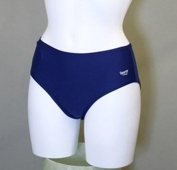 Jasmin bikinitrusser i blå