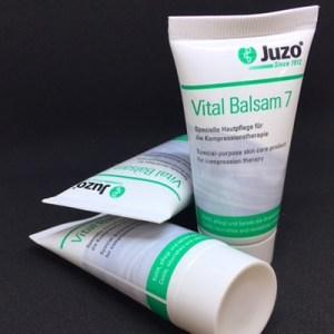 Vital Balsam 7 gør godt på lymfødemarmen