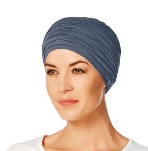 Blå Karma Turban