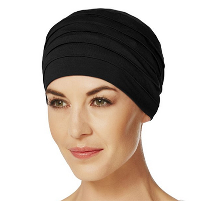 Yoga turban sort
