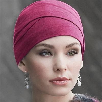 Zoya turban i rød