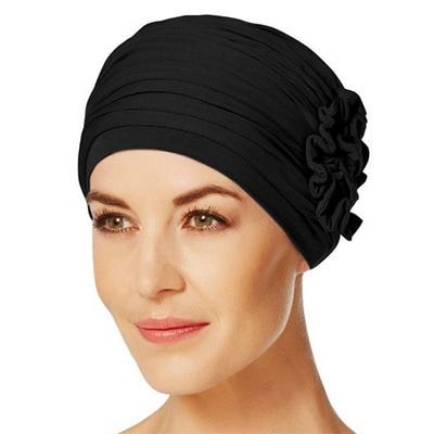 Lotus turban hue i sort