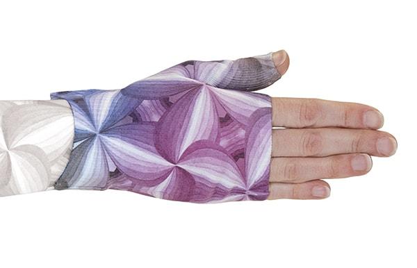 Kaleidoscope kompressionshandske uden fingre