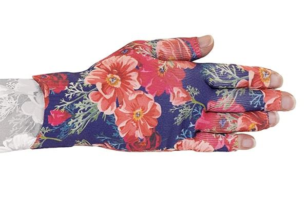 Poppy kompressionshandske med 5 fingre