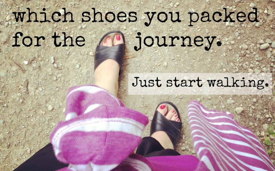 walk with me: is planning ahead stealing your joy?