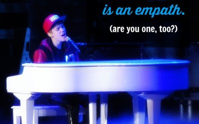 Justin Bieber is an empath. Are you one, too?