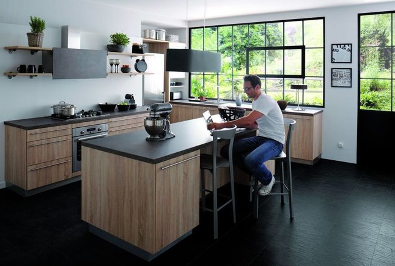 Plan De Travail Escamotable Cuisinella Novocom Top