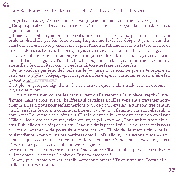 "Citations extraites du livre ""Chateau Roogna"" de Piers Anthony"