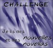 Challenge je lis des nouvelles et des novellas JLNN