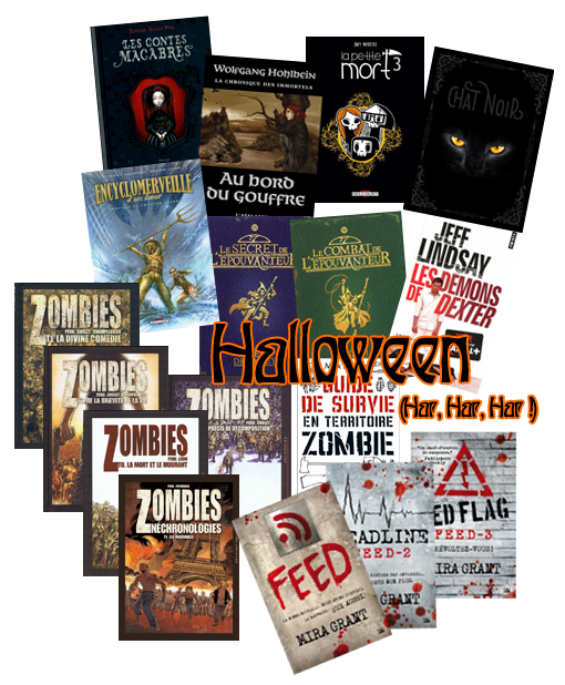 livres Halloween 2015