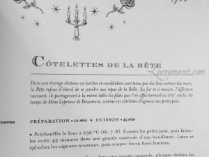 La cuisine des sorciers d'Aurélia Beaupommier Cotelettes de la Bete