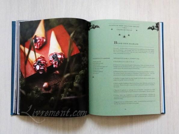 La cuisine des sorciers d'Aurélia Beaupommier Blob des marais