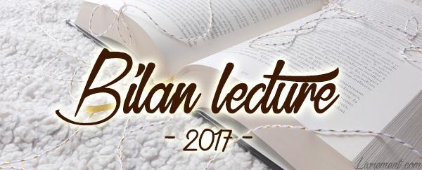 Bilan lectures de l'année 2017 du blog Livrement
