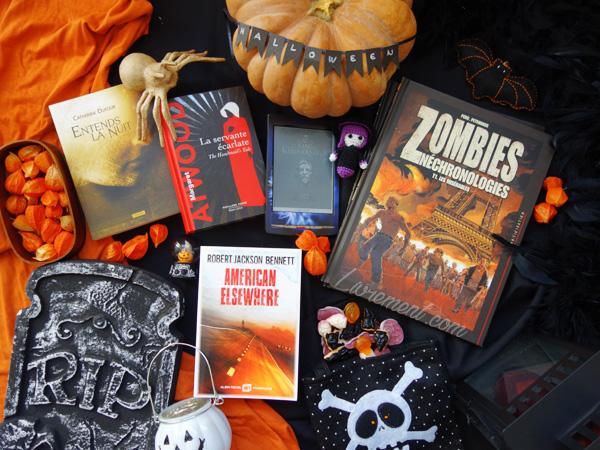 Livres lus pour Halloween 2018