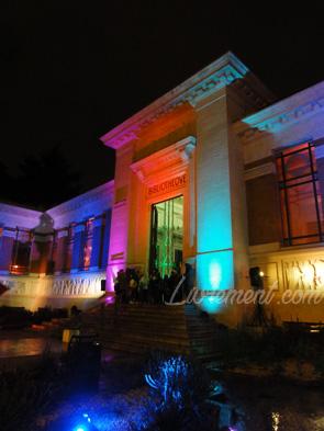 Nuit de la lecture 2018 extérieur de la bibliothèque d'étude et du patrimoine Toulouse