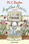 Couverture du roman A la claire fontaine de M.C. Beaton, tome 7 d'Agatha Raisin enquête
