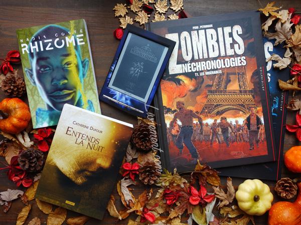 Acquisition de livres durant octobre 2018