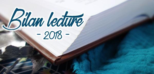 Bannière pour le bilan de lectures 2018 : coin d'un livre ouvert
