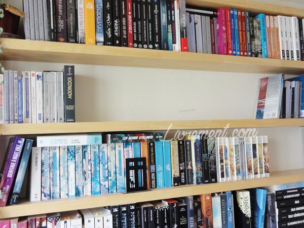 Un peu de place dans la bibliothèque