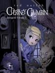 Couverture de l'intégrale 1 en noir et blanc de Courtney Crumrin par Ted Naifeh