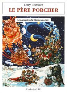 Couverture du roman Le Père Porcher de Terry Pratchett, tome 20 des Annnales du Disque-monde