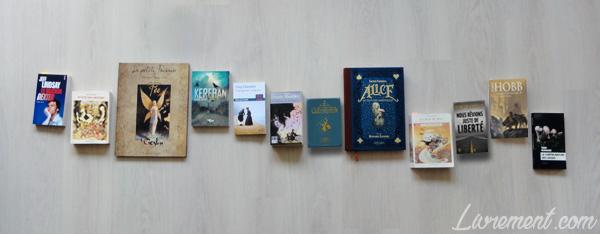 Livres lus sur la cinquième année du défi littéraire Valériacr0