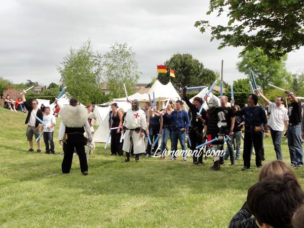 Festival Echos et Merveilles - préparation du camp des adultes