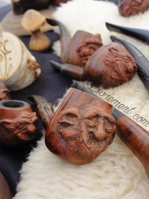 Festival Echos et Merveilles - Pipes par l'artisan Corwin Ravencroft