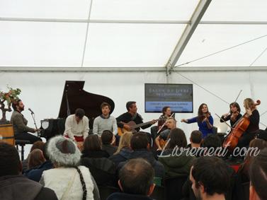 Echos et merveilles 2019 : concert improvisé du Neko Light Orchestra