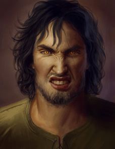 """Fan art de Fitz Chevalerie """"Le loup qui est en moi"""""""