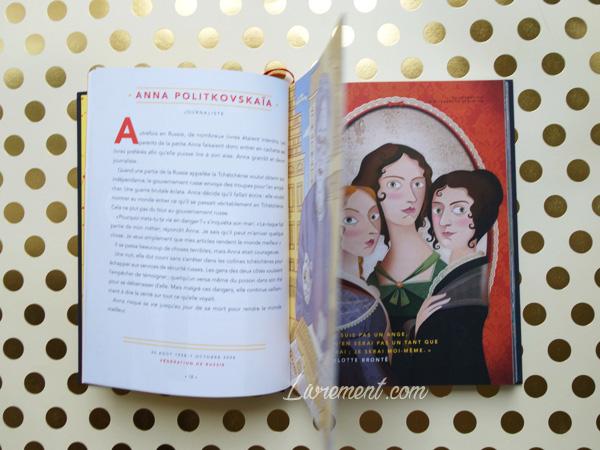 Livres histoires du soir pour filles rebelles à feuilleter