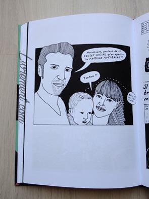 Livre I'm every woman de Liv Strömquist : page de la famille nucléaire