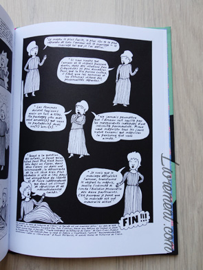 Livre I'm every woman de Liv Strömquist : page de Voltairine de Cleyre