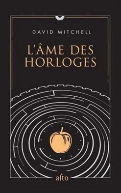 """Couverture du livre """"L'âme des horloges"""" de David Mitchell aux éditions Renaud Bray"""