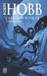 Couverture du roman L'homme noir de Robin Hobb, tome 12 de L'assassin royal