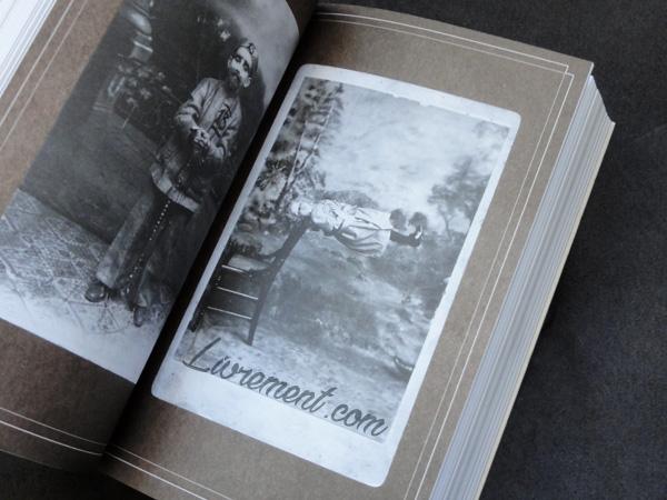 Extrait photo du livre La bibliothèque des âmes de Ransom Riggs