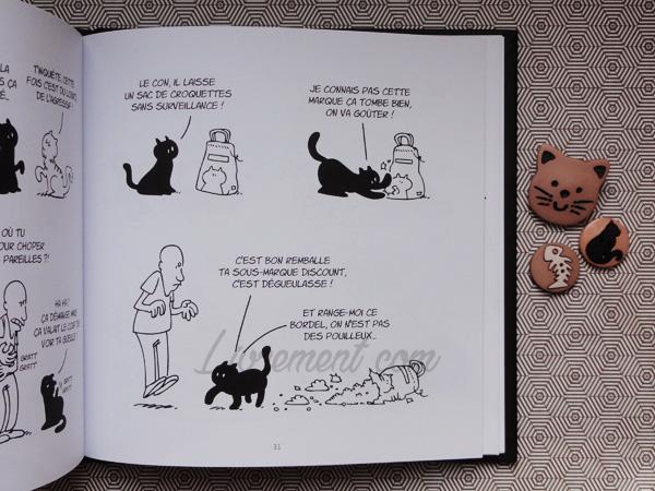 Putain de chat de Lapuss : extrait des croquettes discount