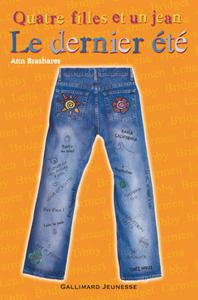 """Couverture du livre """"Le dernier été"""" d'Ann Brashares"""