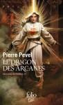 """Couverture de la trilogie """"Les lames du cardinal"""" de Pierre Pevel : tome 3 nommé le dragon des arcanes"""