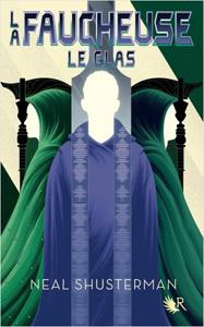 """Couverture du roman """"le glas"""" de Neal Shusterman, le tome 3 de La Faucheuse"""