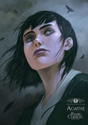 Portrait d'Agathe par Xavier Collette, personnage de Le Phare au Corbeau de Rozenn Illiano