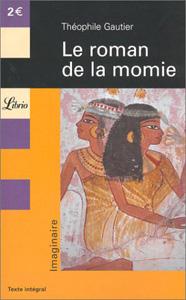 Couverture Librio du roman de la momie de Théophile Gautier