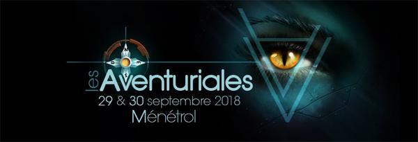 Bannière des Aventuriales 2018