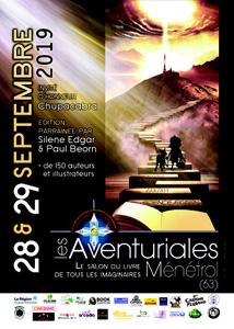 Affiche des Aventuriales 2019 à Ménétrol