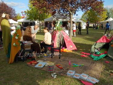 Salon littéraire Ménétrol : Les Aventuriales - Animation dans le parc