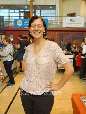 Salon littéraire Ménétrol : Les Aventuriales ; rencontre de Nadia Coste